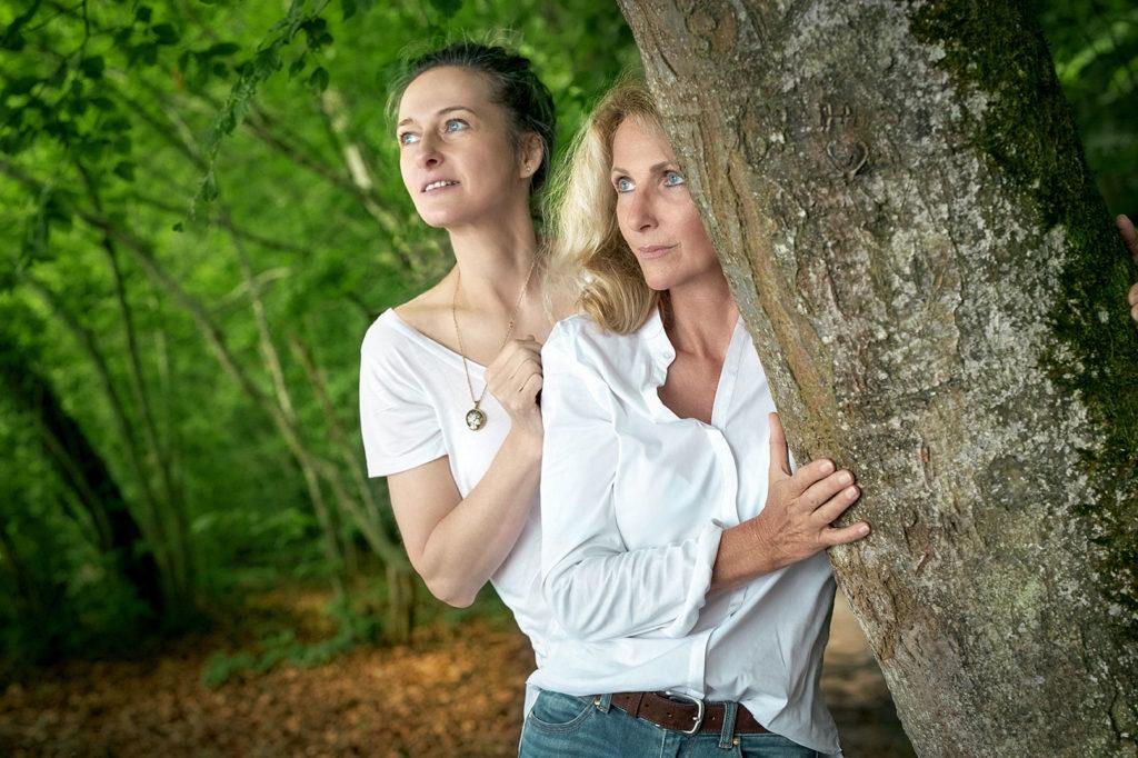 Waldbaden mit Miriam und solde